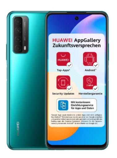 Huawei Smartphone P Smart 2021 grün 128 GB