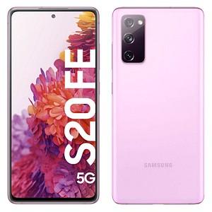 SAMSUNG Galaxy S20 FE 5G Dual-SIM-Smartphone cloud lavender 128 GB
