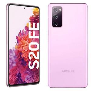 SAMSUNG Galaxy S20 FE Dual-SIM-Smartphone cloud lavender 128 GB