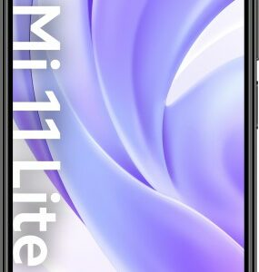 Xiaomi Smartphone Mi 11 Lite 6GB+128GB schwarz