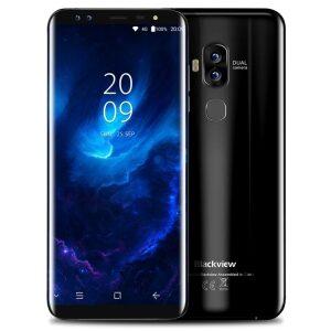 18:9 Blackview S8 Four Cameras Smartphone 4G+64G 5.7 Inch andriodphone Octa Core 1440*720 4G LTE Fingerprint OTG 4g Mobile Phone