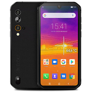 Blackview BV9900 PRO Outdoor-Smartphone grau 128 GB