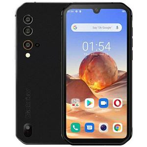 Blackview BV9900E Outdoor-Smartphone schwarz 128 GB
