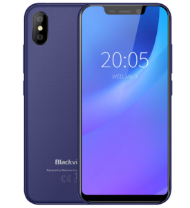 """Blackview Original A30 2GB+16GB 5.5"""" Smartphone 19:9 Full Screen MTK6580A Quad-Core Android 8.1 Dual SIM Face ID Mobile Phone"""