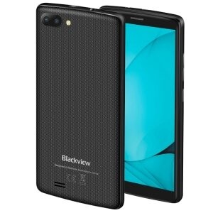Drop Shipping Free Shipping Mobile Phone In Stock Smartphone Blackview A20, 1GB+8GB Unlocked Cell Phone Android Phone