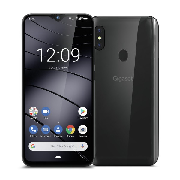 Gigaset Smartphone GS290 titan grau 64 GB Speicher