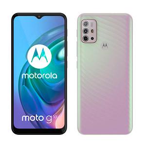 MOTOROLA Moto G10 Dual-SIM-Smartphone weiß 64 GB
