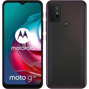 MOTOROLA Moto G30 Dual-SIM-Smartphone schwarz 128 GB