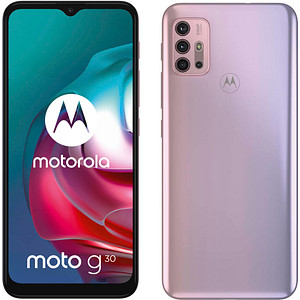 MOTOROLA Moto G30 Dual-SIM-Smartphone violett 128 GB