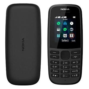 NOKIA 105 (2019) Dual-SIM-Handy schwarz