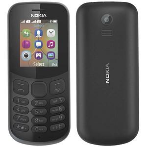 NOKIA 130 Dual-SIM-Handy schwarz