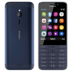 NOKIA 230 Revival Dual-SIM-Handy blau