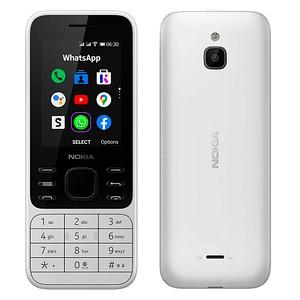 NOKIA 6300 4G Dual-SIM-Handy weiß