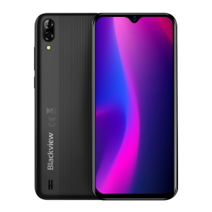 New Product Blackview A60 Cell Phone Dual Rear Cameras 4080mAh Battery 6.1 inch Cheap Android Smartphone