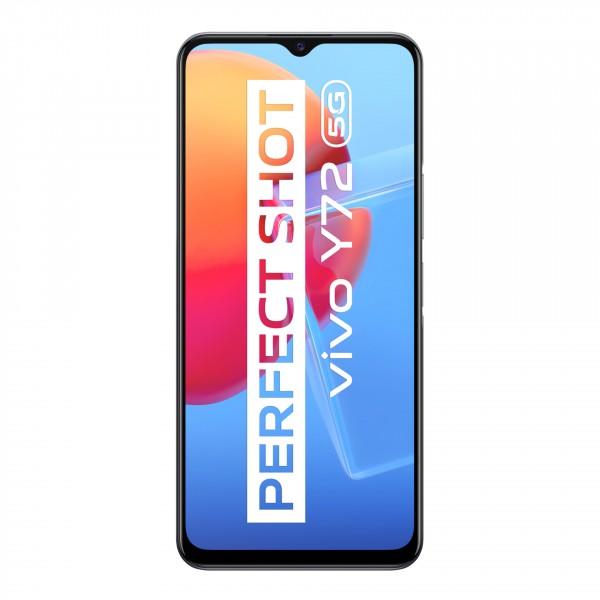 Vivo Smartphone Y72 5G schwarz 128 GB