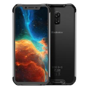 Wireless charge smartphone Blackview BV9600 6.21 inch Android 9.0 Helio P70 Octa-core 4GB+64GB 5580mAh Waterproof NFC 4G mobile